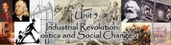industrial revolution outline